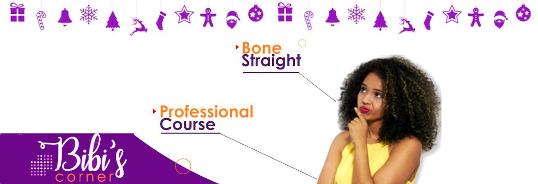 Bibi's Corner: Professional Course or Bone Straight Wig