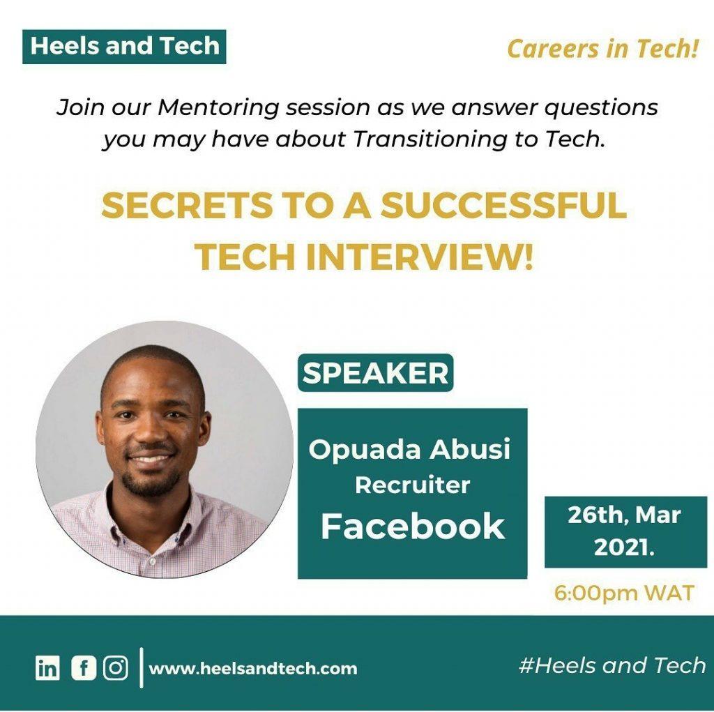 Secrets To A Successful Tech Interview