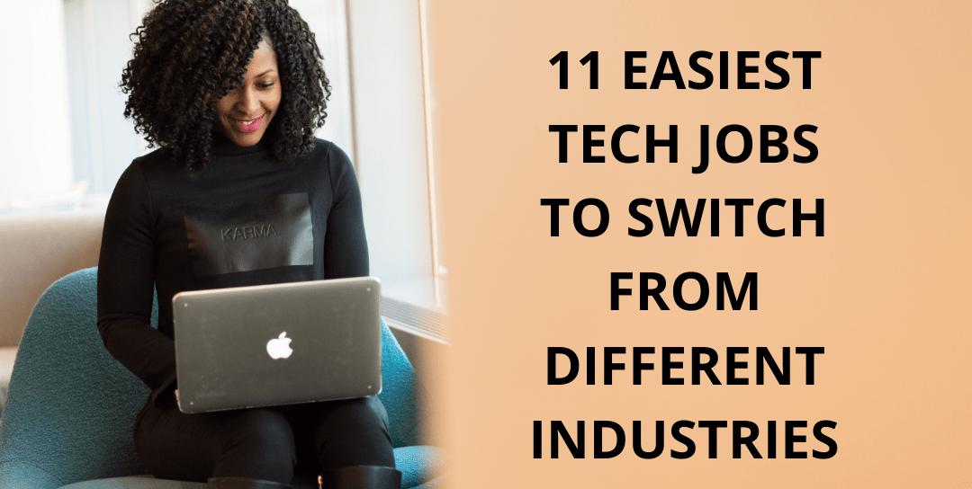 11 best tech jobs for career changers