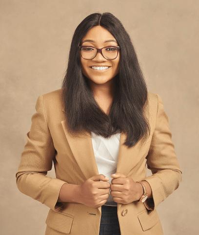 Female Nigerian brand designer LinkedIn. Black women in tech