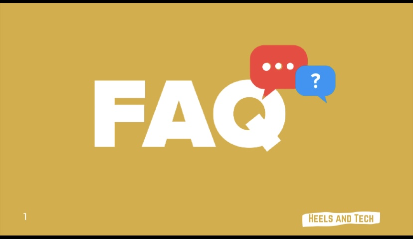 breaking into tech FAQ