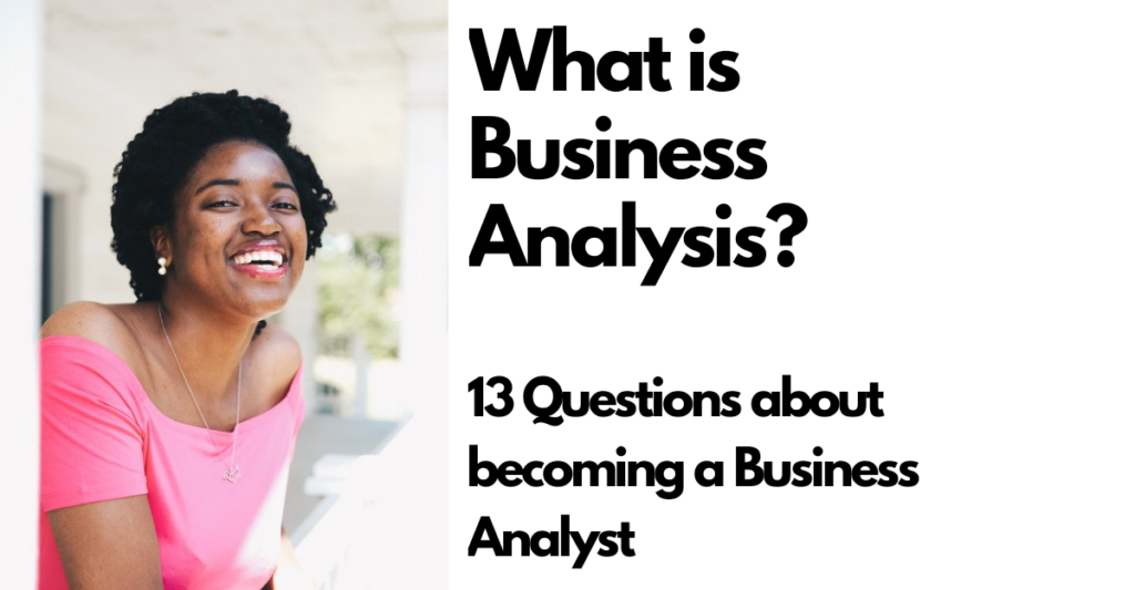 what is business analysis?